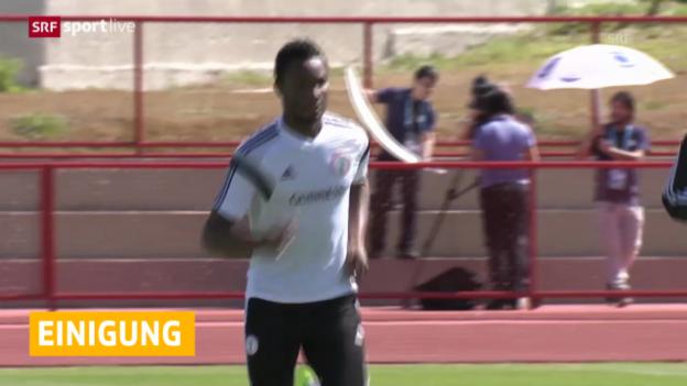 Video «Nigeria beendet Trainings-Boykott» abspielen