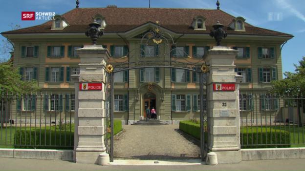 Video «Strafverfahren gegen Kantonspolizei Bern» abspielen