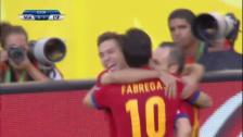 Video «Spaniens Führungstor gegen Nigeria in bester Tiki-Taka-Manier» abspielen