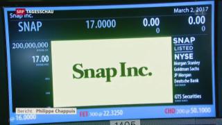 Video «Traumstart für Snapchat an der Börse» abspielen
