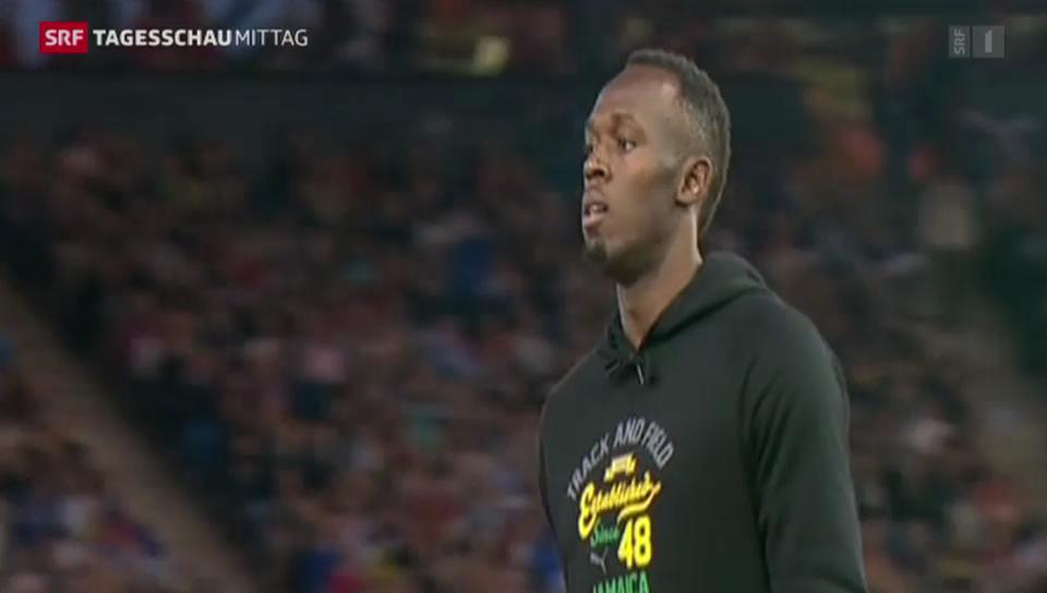 Usain Bolt mit geglücktem Comeback