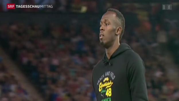 Video «Usain Bolt mit geglücktem Comeback» abspielen
