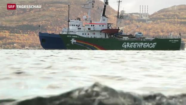 Video «Funde auf Greenpeace-Schiff» abspielen