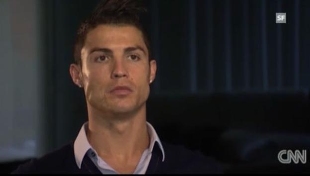 Video «Cristiano Ronaldo über sein Image (englisch)» abspielen