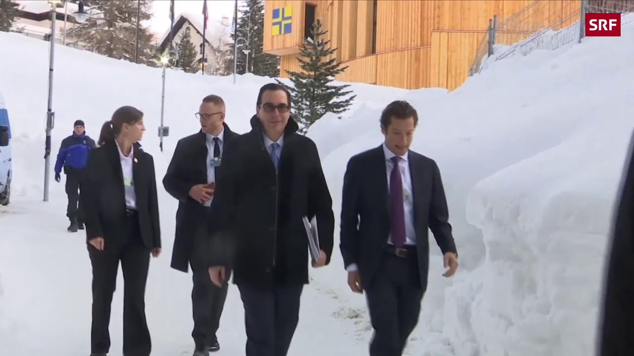 Davos: China verspricht sich