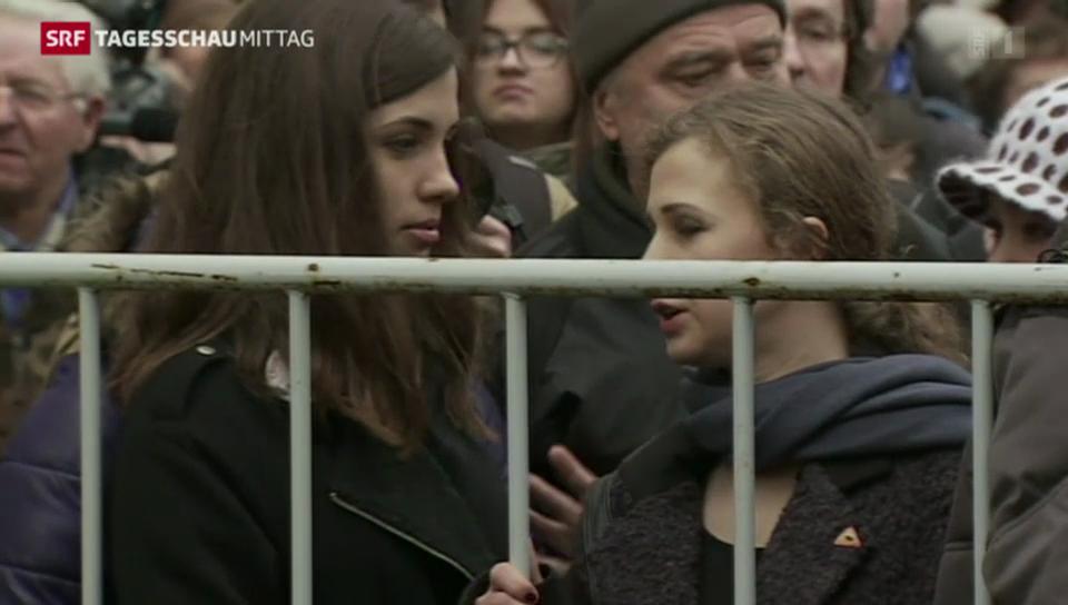 Russland sperrt Oppositionelle weg
