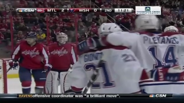 Video «Highlights Washington - Montreal» abspielen