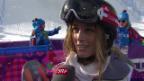 Video «Snowboard: Halfpipe-Quali, Interview mit Nadja Purtschert (sotschi direkt, 12.02.2014)» abspielen