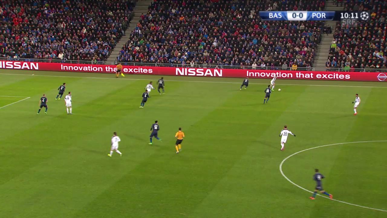 Fussball: Champions League, Live-Highlights Basel - Porto