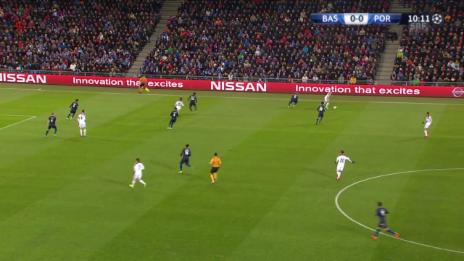 Video «Fussball: Champions League, Live-Highlights Basel - Porto» abspielen