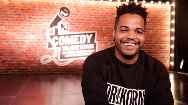 Video «Kiko auf der SRF 3 «Comedy Talent Stage»» abspielen