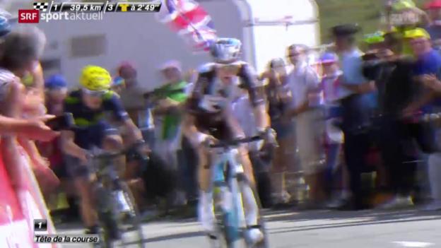 Video «Rad: Tour de France, 18. Etappe» abspielen