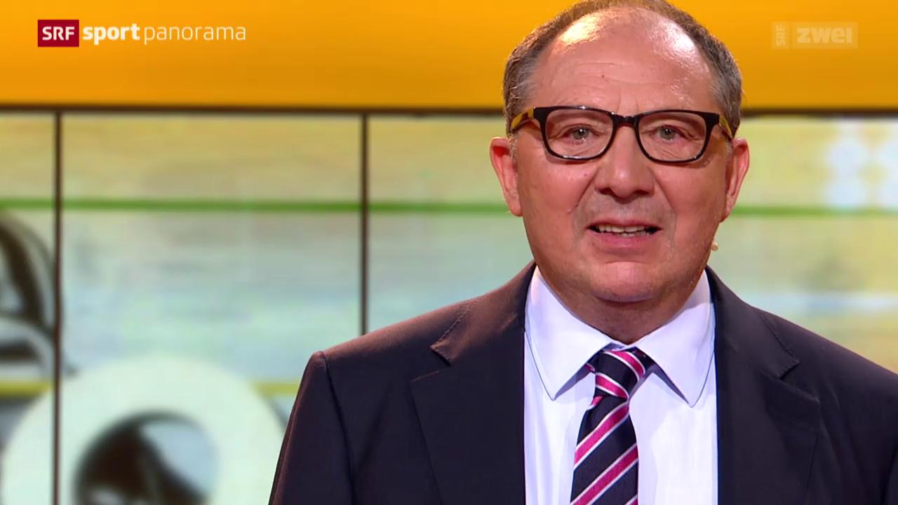 Bernard Thurnheer: 34 Jahre «sportpanorama»