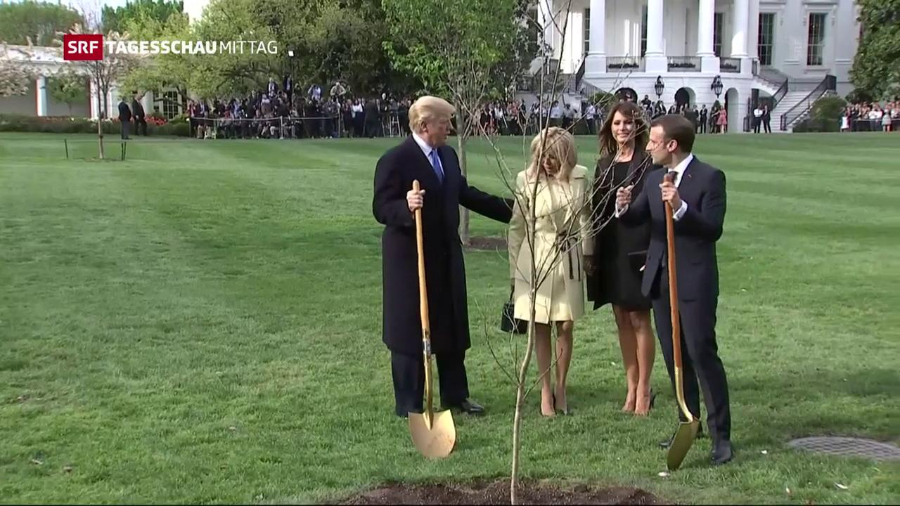 Macron zu Besuch in Washington