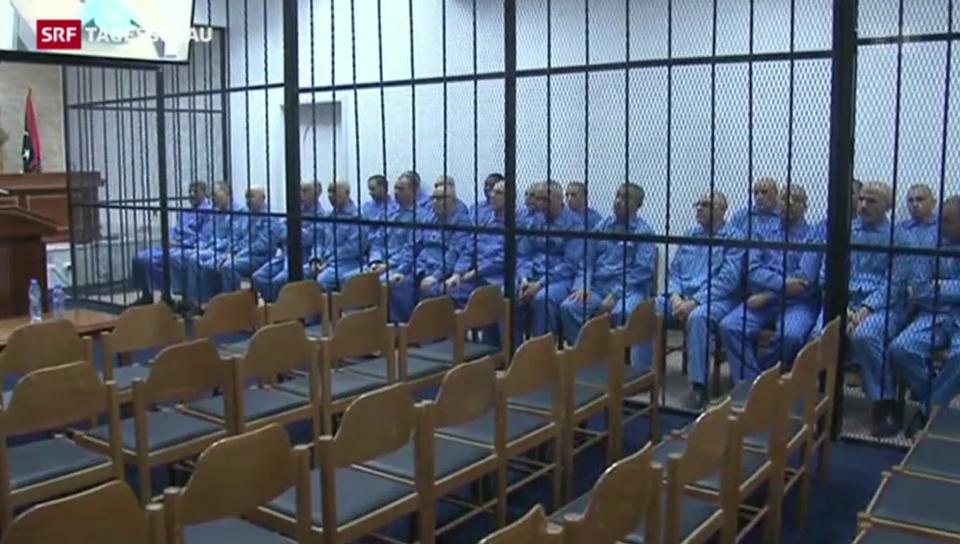 Fortsetzung des Prozesses gegen Gaddafi-Söhne