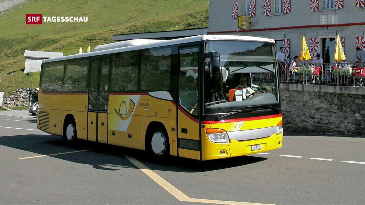 Private Bus-Betreiber beschweren sich über Postauto