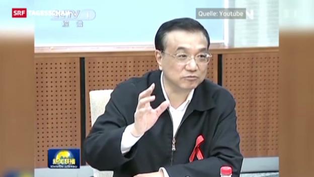 Video «Wer ist Chinas neuer Premier?» abspielen