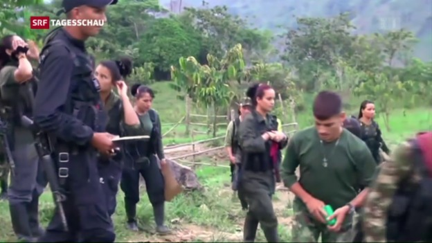 Video «Keine Kindersoldaten mehr bei der FARC» abspielen