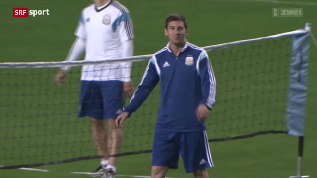 Messis erster Auftritt gegen Bosnien-Herzegowina