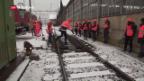 Video «Viel Schnee in der Schweiz» abspielen