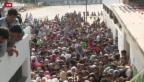 Video «Flüchtlingsunruhen auf Kos» abspielen