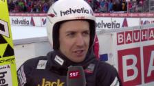 Video «Interview mit Simon Ammann («sportlive», 21.12.13)» abspielen