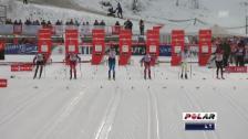 Video «Langlauf: Sprint Kuusamo, Viertelfinal von Ueli Schnider» abspielen