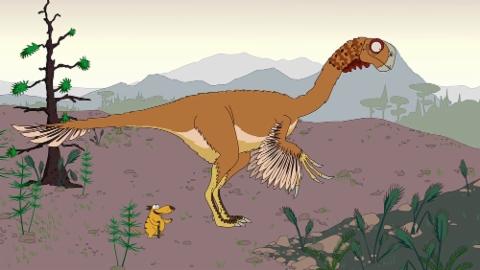 Ralph und die Dinosaurier: Gigantoraptor (7/26)