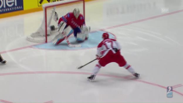 Video «Die Tore im WM-Spiel Norwegen - Dänemark» abspielen