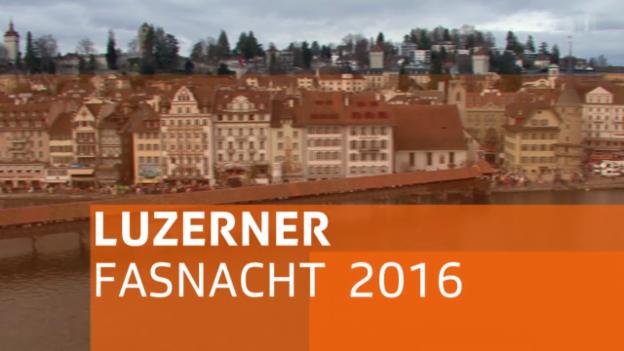 Video «Luzerner Fasnacht 2016 – Güdismontag-Umzug» abspielen