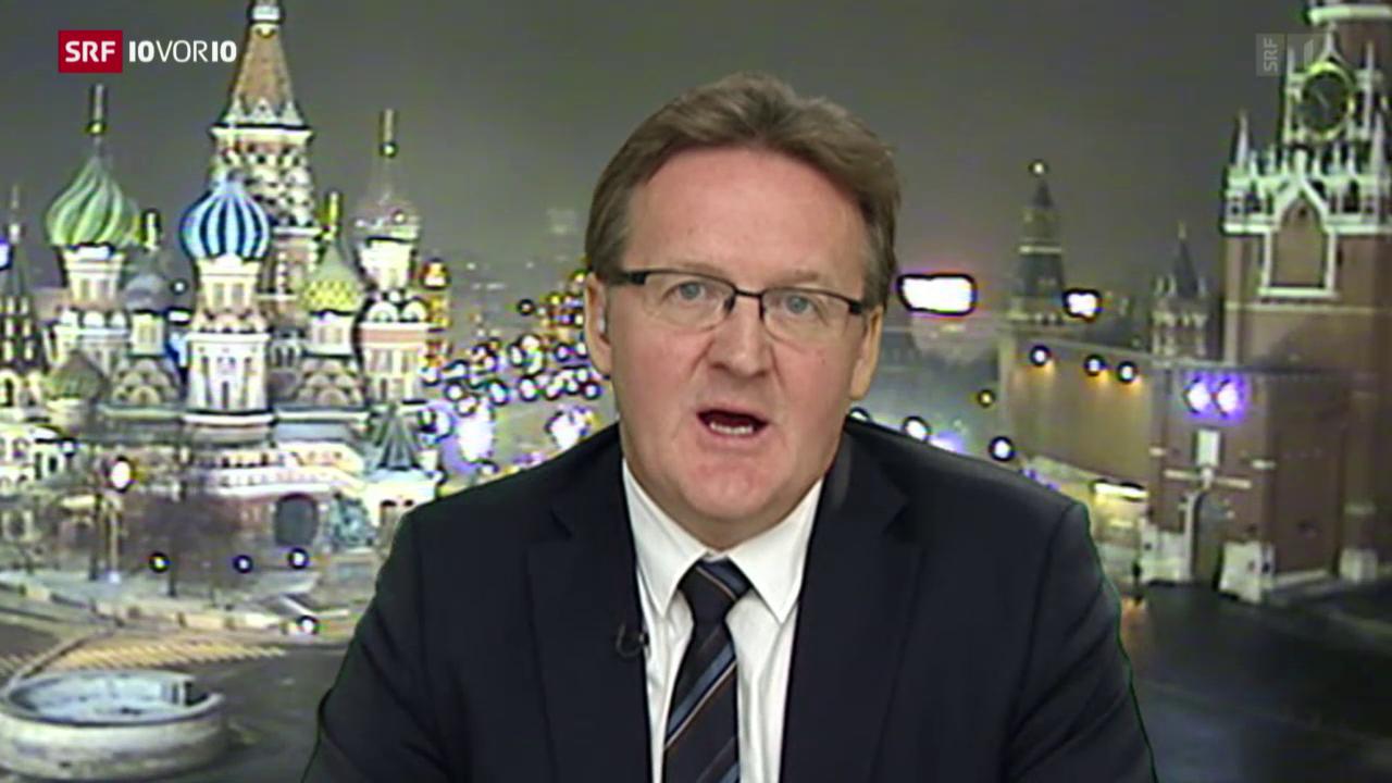 Einschätzungen von Christof Franzen, SRF-Korrespondent in Moskau