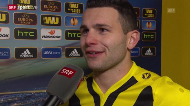 Video «Fussball: Interview mit Renato Steffen» abspielen