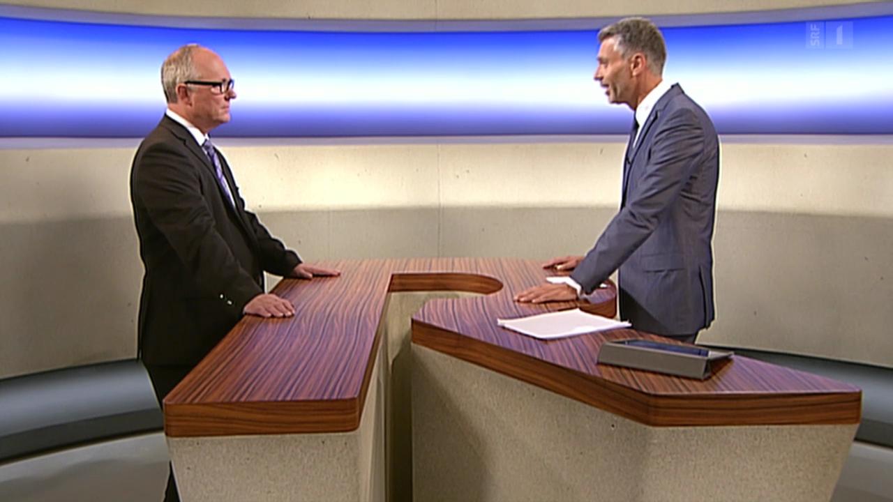 Adrian Hug, Chef der eidg. Steuerverwaltung, nimmt Stellung
