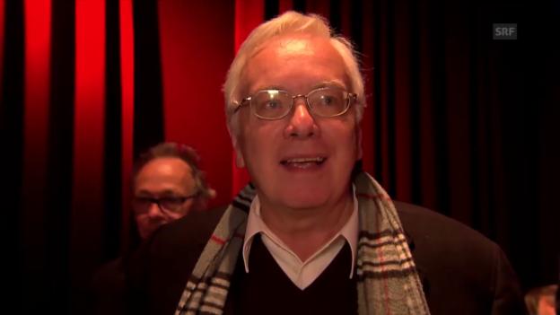 Video «Roland Wächter, Musikredaktor SRF 2 Kultur» abspielen