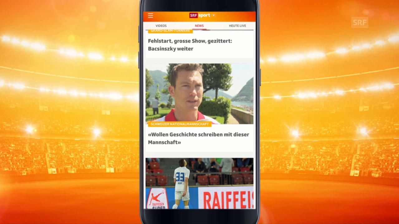 srf sport app
