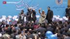 Video «In Iran stehen Hardliner gegen Reformer» abspielen