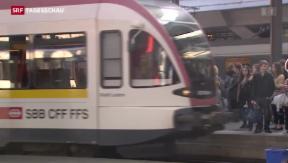 Video «Trend Eisenbahnprojekt des Bundes «FABI»» abspielen