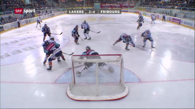 Eishockey: Lakers - Fribourg