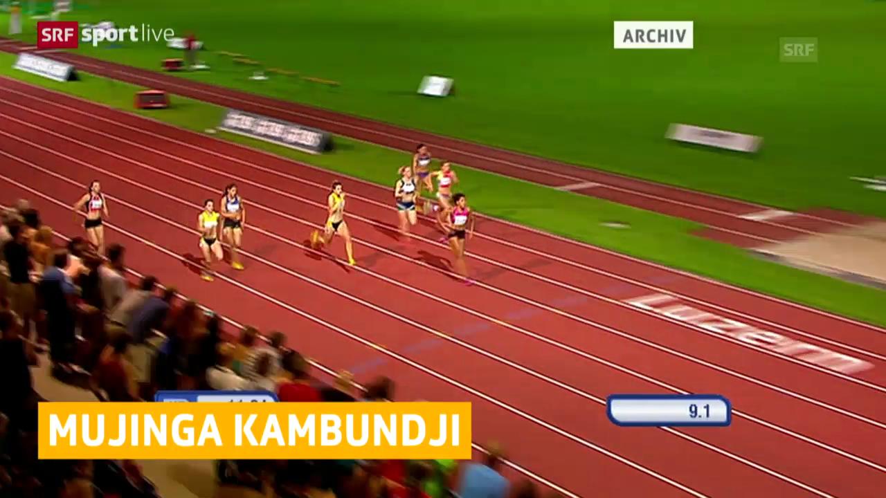 Leichtathletik: Mujinga Kambundji läuft in Genf Schweizer Bestmarke über 100 m