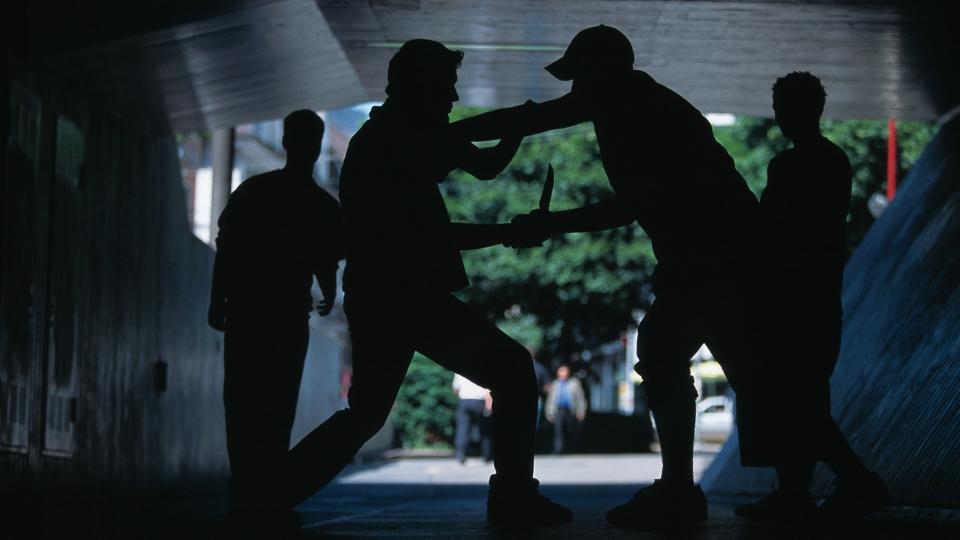 Das Ausmass der Gewalt zwischen Jugendbanden wurde immer grösser. Ein Besuch bei einer Gang.