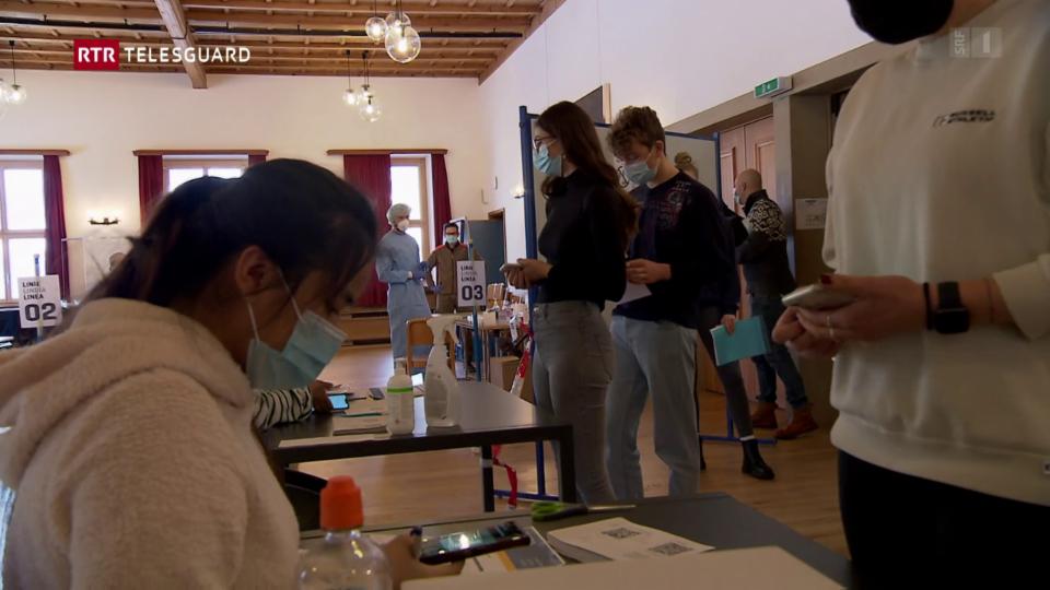 Project da pilot en il Grischun: Tests tar scolaras e scolars