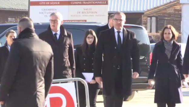 Video «Anreise zur Gedenkfeier in Le Vernet» abspielen