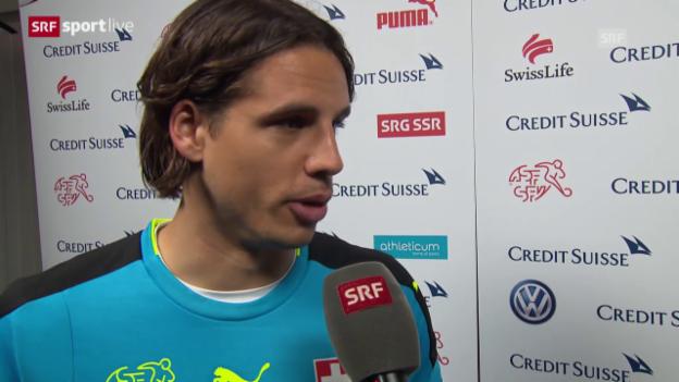 Video «Yann Sommer über einen «langweiligen Match»» abspielen