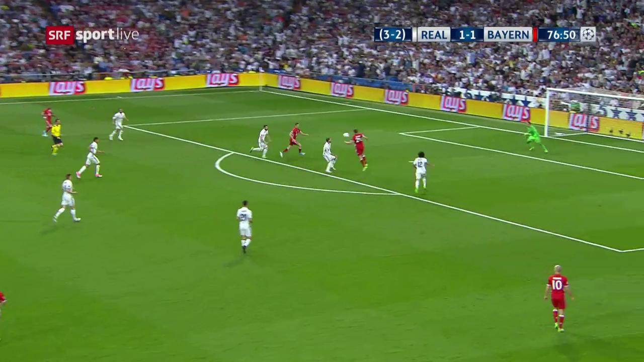 Ramos bezwingt seinen Keeper