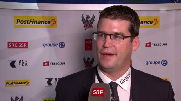 Video «Generaldirektor Raphael Berger zur Wahl von Huras» abspielen