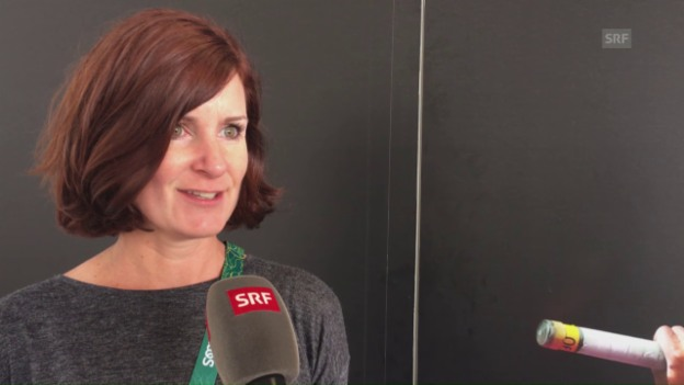 Video «US-Expertin glaubt an Steingrubers Medaillen-Chance» abspielen