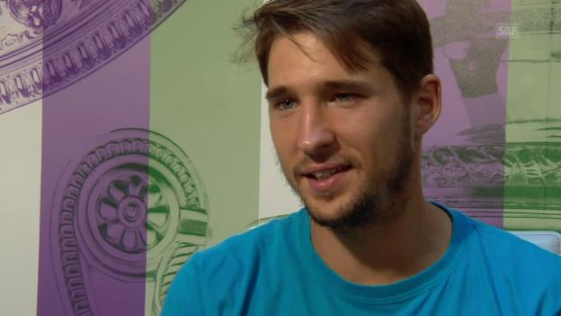 Video «Lajovic: «Das habe ich mir gewünscht»» abspielen