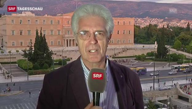 Video «Werner Van Gent: «Griechenland in politische unbekannten Gewässern»» abspielen