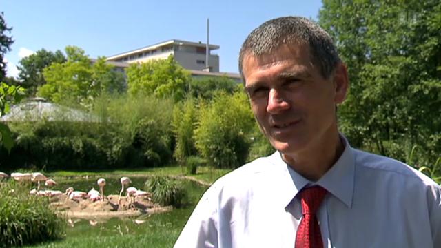 Zoo Basel mit Direktor Olivier Pagan