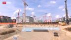 Video «Glattpark Opfikon: Hohe Kosten für Entsorgung von Aushub-Material» abspielen
